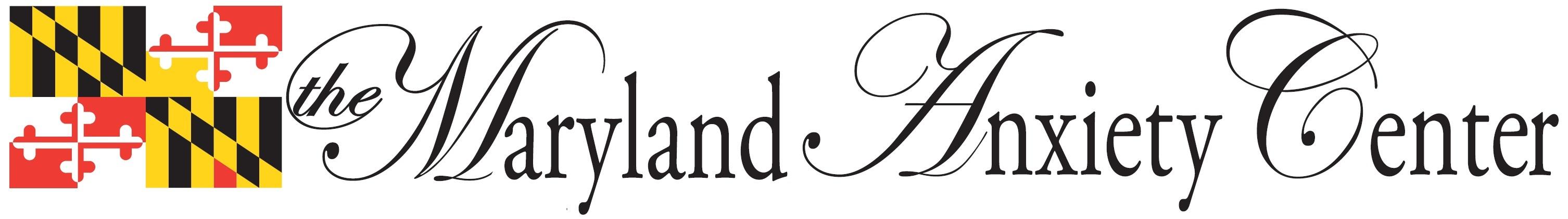 The Maryland Anxiety Center main logo